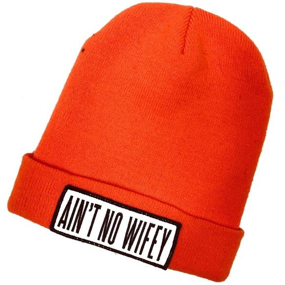758e846b18568 Accessories - Dimepiece Ain t No Wifey Beanie